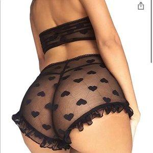 Sexy see thru set